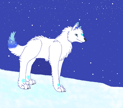 G - Wolf of the winter by TheSharkGirl