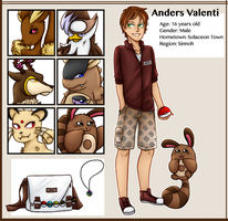 pokemon oc || anders by withwingsthatfly