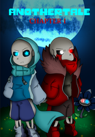 ANOTHERTALE chapter I Cover by Azureanothertale