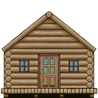 Cabin  Game Asset by Ultimaodin