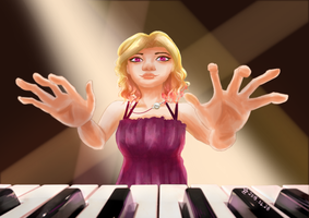 Player Piano by serendipity-dream