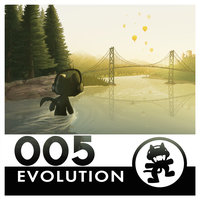 Monstercat Reimagined Album Art 005: Evolution by petirep