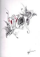 Ace Tattoo Design by Toiger
