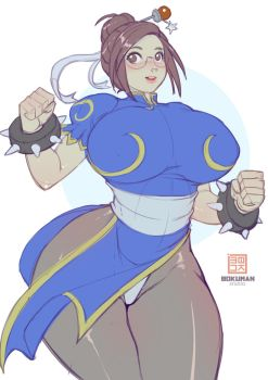 Mei chunli Sketch by bokuman