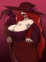 Red Witch by Tourin17