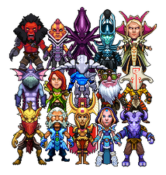 Pixel Dota by gas13