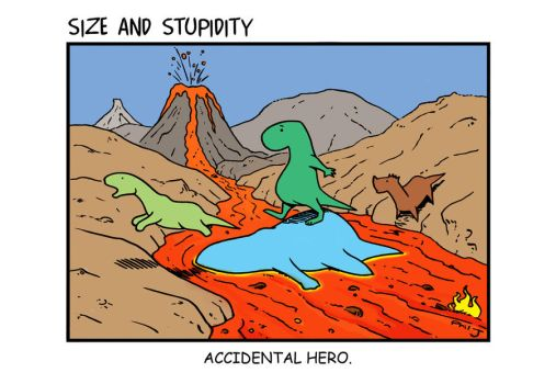 Accidental Hero by Size-And-Stupidity
