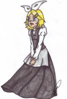 Kagamine Rin : Story of Evil by Chyche
