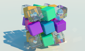 27 Cubes of 2014: Holding at 15 Degrees by vidthekid