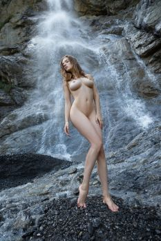 Caught In A Waterfall by fotodesign1
