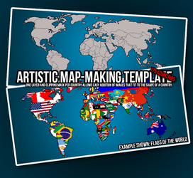 Artistic Map-Making Template by Snipahar