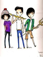 Percy Jackson - The Big 3 by corazongirl