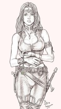 Female Rogue by staino