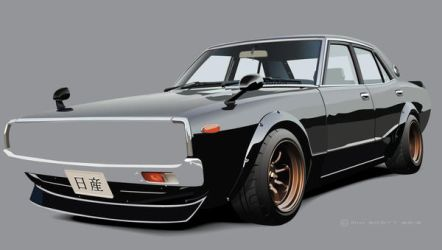 Skyline 2000GT by Rikko40