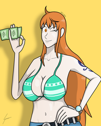 Nami by DrawingGenius