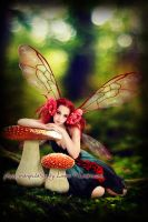 Autumn fairy by Linire