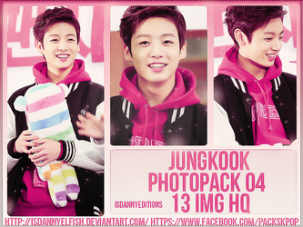 Jungkook (BTS) - PHOTOPACK#04 by JeffvinyTwilight
