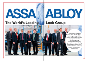 Assa Abloy Cover Page by TanisaurusRex