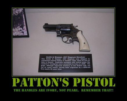 George S. Patton's Pistol by Onikage108
