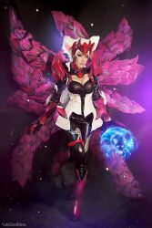 Ahri Challenger Ahri : League of Legends cosplay I by yukigodbless