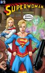 Superwoman Cover Colour 1 Dc2 10 Years Later by StevenHoward