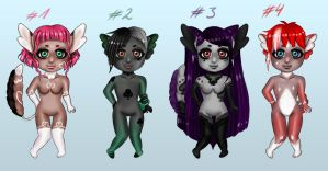 Faennies Adopts (OPEN) by LacrimareObscura