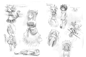 Sketchs from Tag. by Cheroy