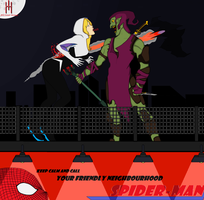 Gwen Stacy Spider Woman Death (1) by Hero-Hunter