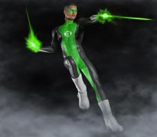 Green Lantern 2nd skin textures for M4 by hiram67