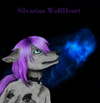 Silvarian WolfHeart (Comission #002) by Blutengle