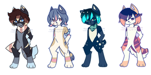 Space Anthro Adopts [OPEN] by CynicalAdopts