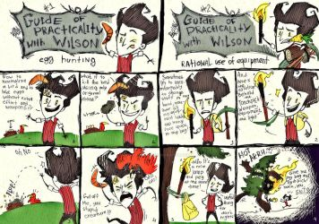 Don't starve or die - practicality guide #1-2 by dragon-flies