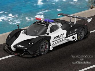 Pagani Zonda R Police Car by EVOV1