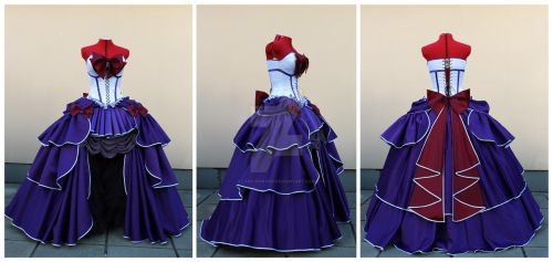 Rococo Sailor Saturn set details by lady-narven