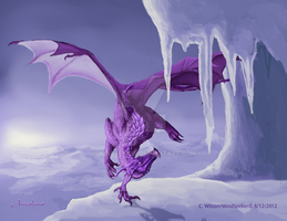 February - Amethyst by WindSeeker