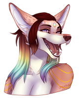 Iridesca Bust by Chocolace