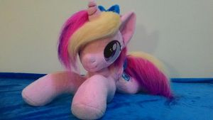 mlp plush-Princess Cadance-Cadance filly by Masha05