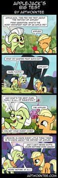 Comic: Applejacks Big Test by artwork-tee