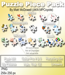 Puzzle Piece Pack by MPCoyote