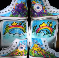 Underwater Music Shoes by marywinkler