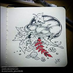 Inktober 2018 - Fairy gold by Candra