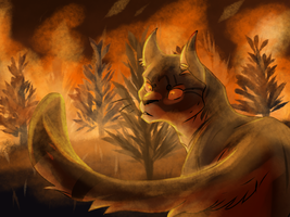 (OLD) Angry Fire Man by Pepperjay