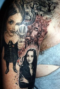 andys tattoo by claudiatat2