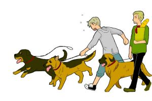 -APH- dogs by Zeras-art
