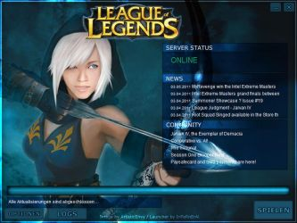 LeagueofLegends Ashe Launcher by Molchi90