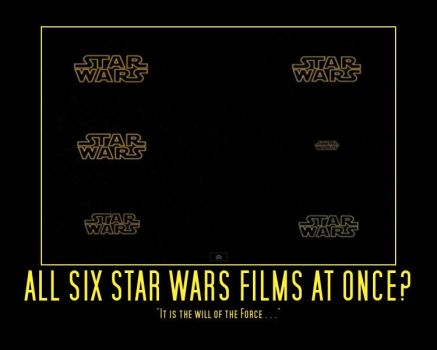 All Star Wars Movies At Once [Video Link Below] by Onikage108