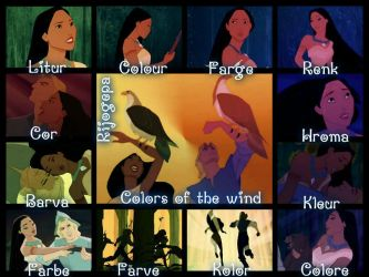 Pocahontas-Colors of the Wind- Wallpaper by Rijogepa