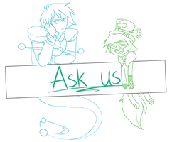 Ask us (OPEN) by Gameaddict1234