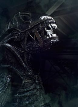 Xenomorph cosplay. by Harpyimages