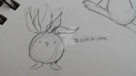 Oddish by LoesWhatever